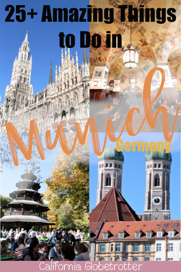 City Guide to Munich, Germany | Munich's Top Attractions | Things to Do in Munich | Bes of Munich | Munich Must-Sees | Where to Stay in Munich | Where to Eat in Munich | Top-Rated Tourist Attractions in Munich | Munich in 3 Days | Day Trips from Munich | Munich Oktoberfest | Top Places to Visit in Germany | Best German Cities | Where to go in Germany | #Munich #München #Bavaria #Bayern #Germany #Deutschland - California Globetrotter