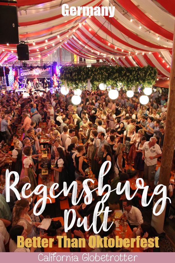 Regensburg's Dult is the New Oktoberfest - When is the Regensburg Dult - When is Regensburg's Oktoberfest? Guide to Dult - Bavarian Beer Festival - Beer Festival Besides Oktoberfest - Authentic Beer Festival - Maidult - Herbstdult - Regensburger Dult #Germany #Regensburg #Bavaria - California Globetrotter