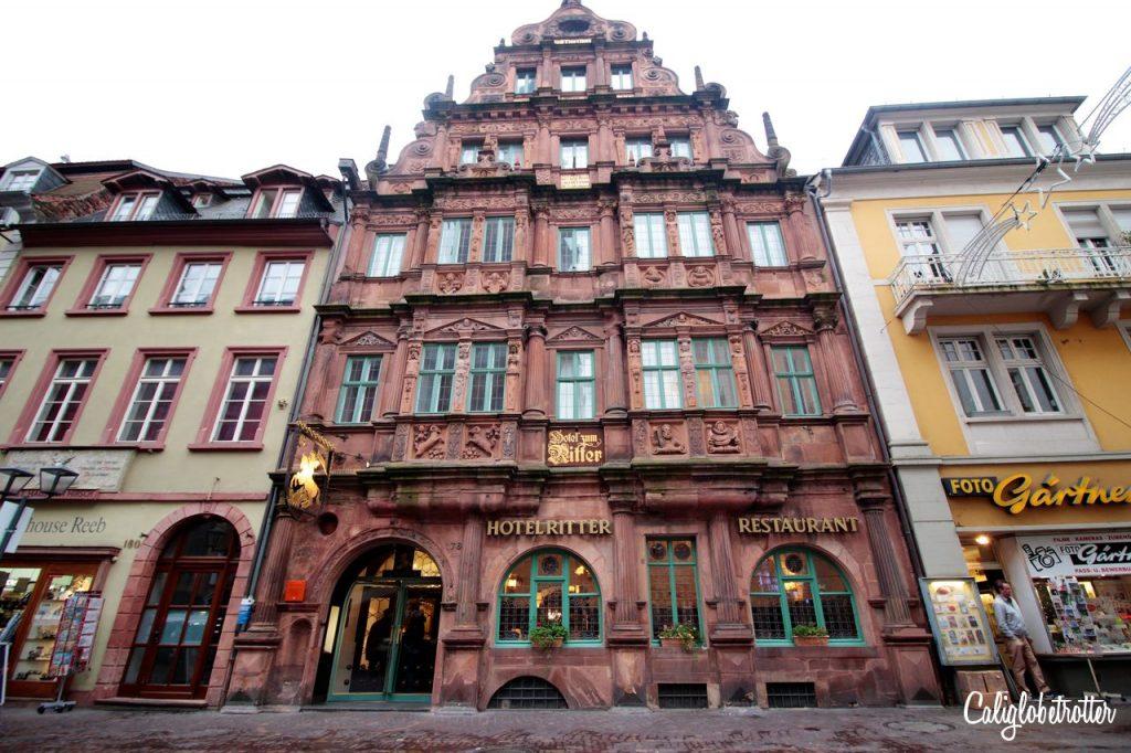 Hotel zum Ritter - Germany's Most Romantic Town - Heidelberg - California Globetrotter