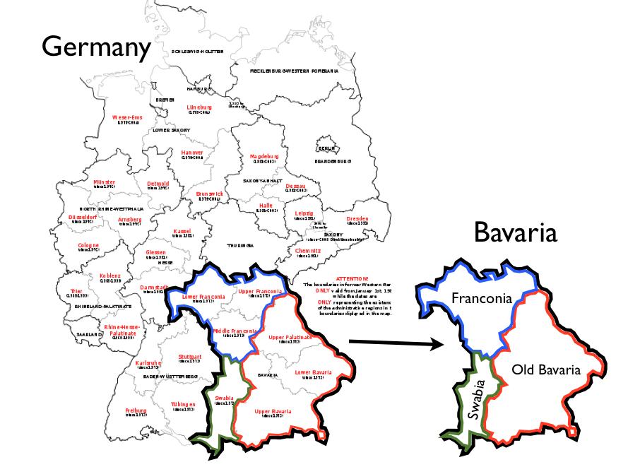 Bavaria-Franconia-Swabia-map