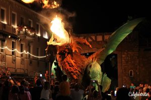 100 Interesting Facts About Germany - Furth im Wald's Drachenstich - The World's Largest Fire Breathing Dragon Robot - Bavaria, Germany - California Globetrotter (3)