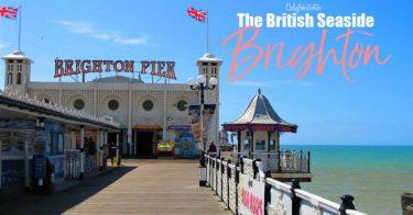 Brighton: The British Seaside | Easy Day Trips from London | London Alternatives | Brighton Sightseeing | Brighton Pier | The Royal Pavilion |UK Travel | Best Cities in the UK | Best Cities in England | The British Coastline | British Palaces & Castles | #Brighton #England - California Globetrotter