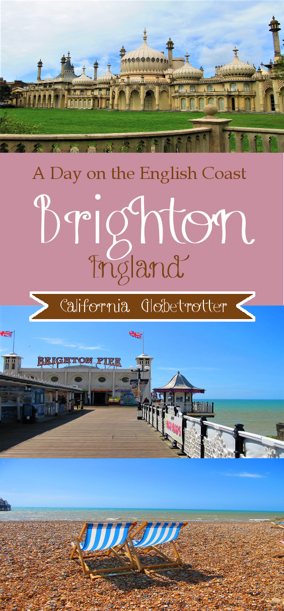 The English Coast - Brighton, England - California Globetrotter