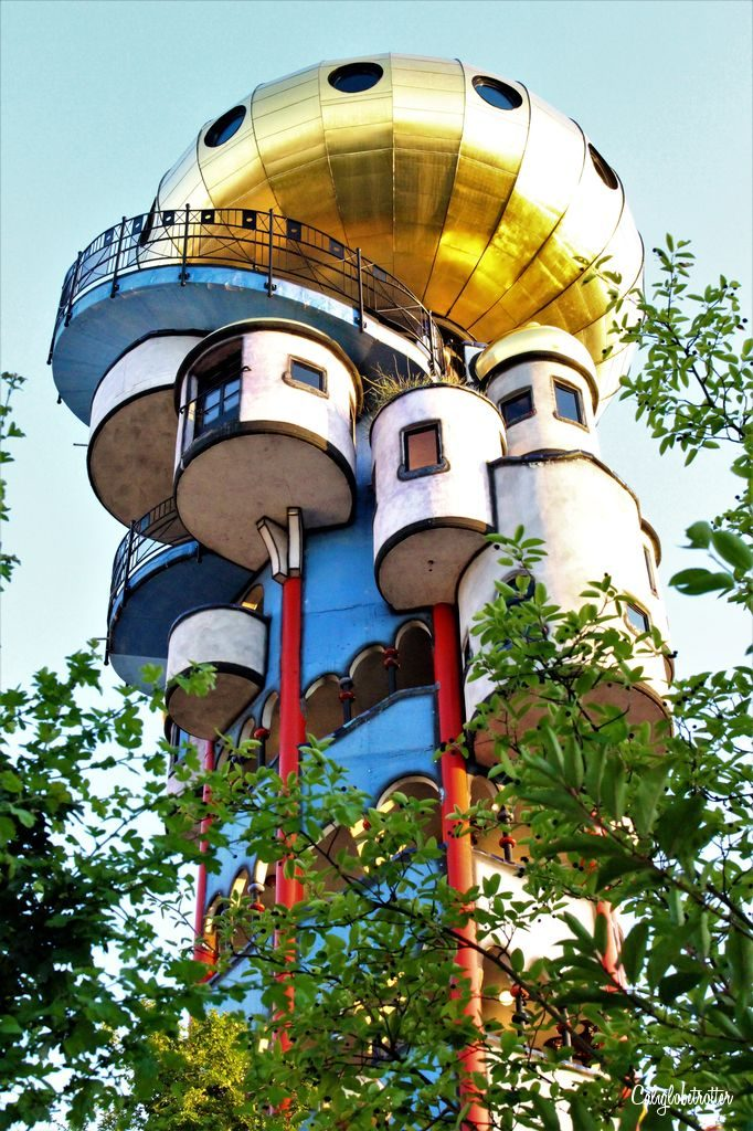 Abensberg & the Kuchlbauer Brewery's Hundertwasser Tower, Bavaria, Germany - California Globetrotter