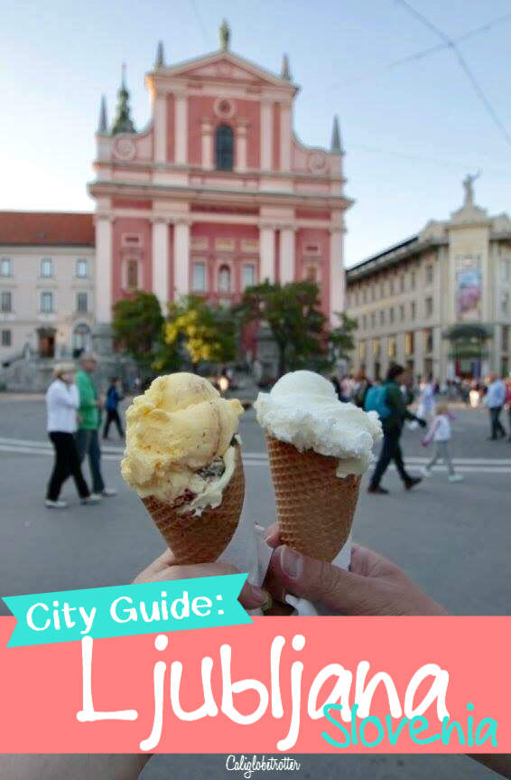 A Quick City Guide to Ljubljana, Slovenia | What to do in Ljubljana | Slovenia's Capital | Underrated Cities in Europe | Central Europe Cities | Ljubljana City Guide | Ljubljana Travel Itinerary | Cities to Visit in Slovenia | Slovenian Cities | Unique Cities in Europe #Ljubljana #Slovenia #Europe - California Globetrotter