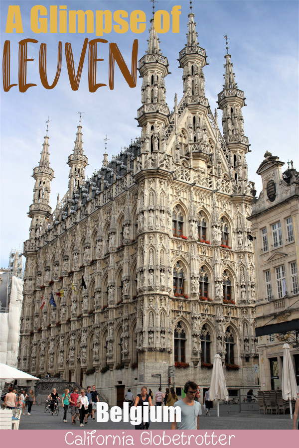 Leuven, Belgium | Easy Day Trip from Brussels | Best Places to Visit in Belgium | Best Belgian Cities to Visit | Where to Go in Belgium | What to do in Leuven, Belgium | Things to See in Leuven | Hidden Gems in Europe | #Leuven #Belgium - California Globetrotter
