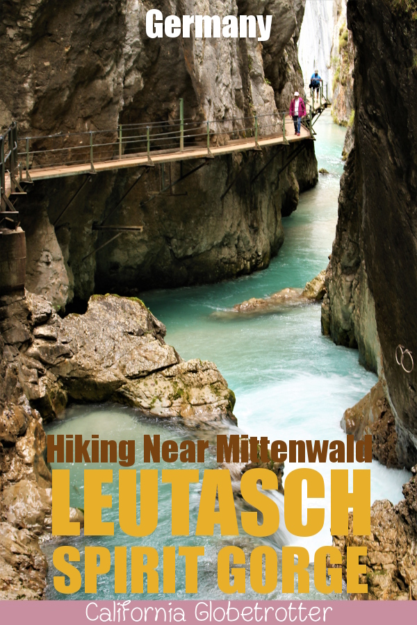 Leutasch Spirit Gorge (Leutasch Geisterklamm) near Mittenwald | Day Trips from Munich | Hiking in Germany | Family-friendly Hikes in Germany | Spirits and Goblins | Cute Villages in Bavaria | Places to Go in Bavaria | Best Hikes in Europe | Hikes for Kids in Germany | Easy Hikes in Bavaria | Hikes for Beginners | #LeutaschSpiritGorge #Mittenwald #Bavaria #Germany #Europe - California Globetrotter