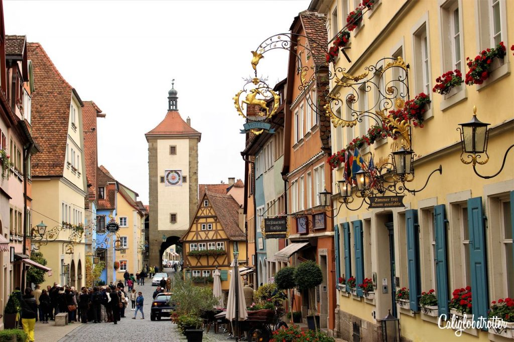 Rothenburg ob der Tauber - A Fairy Tale Town | Beautiful Half-timbered Towns in Germany | Beautiful Small Towns in Germany | Top Places to Visit in Germany | Best Cities to Visit in Bavaria | Bavarian Towns | Fairy Tale Towns in Germany | Where to go in Bavaria | #Rothenburg #RothenburgobderTauber | Bavaria #Germany - California Globetrotter