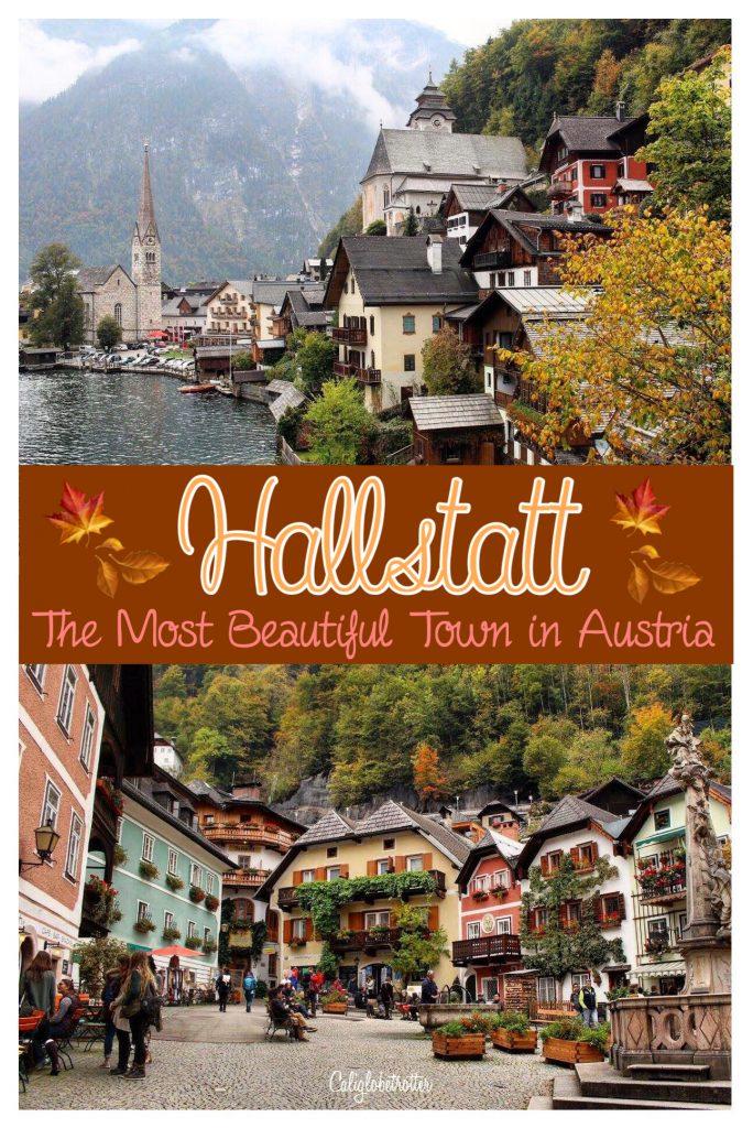 Autumn in Hallstatt, Austria | When to Visit Hallstatt | Austria's Most Instagrammable Town | Day Trips in Austria | Things to do in Hallstatt | Where to eat in Hallstatt | Top Attractions in Hallstatt | Austria's Most Beautiful Town - California Globetrotter