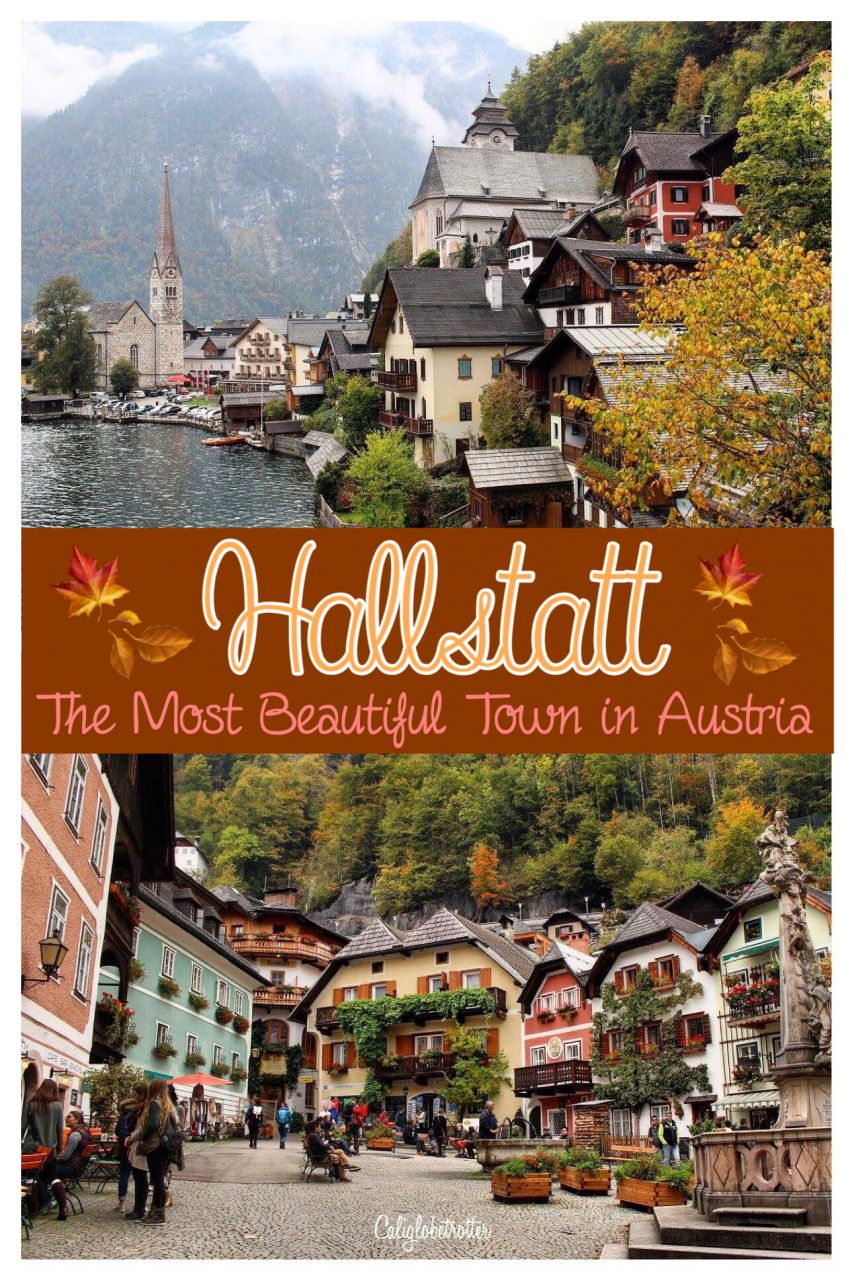 Autumn in Hallstatt, Austria | When to Visit Hallstatt | Austria's Most Instagrammable Town | Day Trips in Austria | Things to do in Hallstatt | Where to eat in Hallstatt | Top Attractions in Hallstatt | Austria's Most Beautiful Town - California Globetrotter