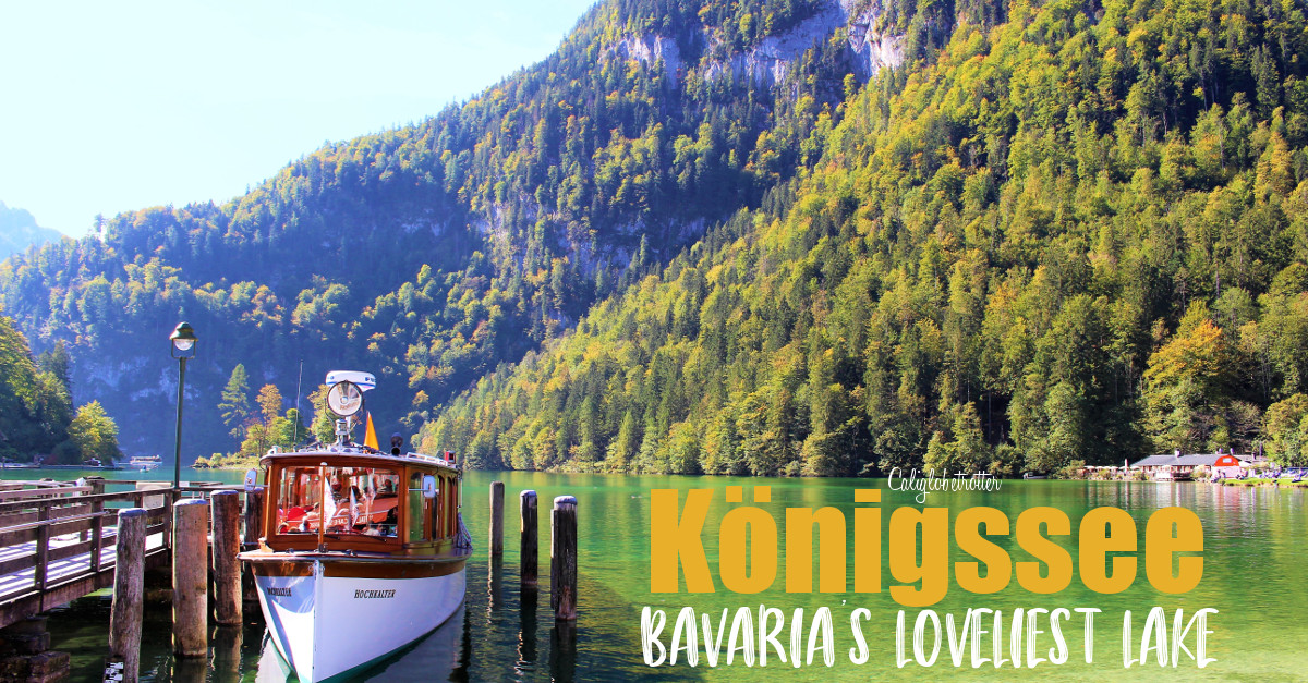Königssee: Bavaria's Lovelieslt Lake | Things to do in Berchtesgaden | Berchtesgaden National Park | Bavarian Alps | Ellectric Boat Tour to Obersee and St. Bartholomew | Where to go in Bavaria | Best of Bavaria | #Berchtesgaden, #Bavaria, #Germany #Europe - California Globetrotter