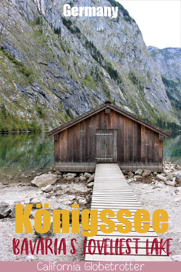Königssee: Bavaria's Loveliest Lake | Things to do in Berchtesgaden | Berchtesgaden National Park | Bavarian Alps | Ellectric Boat Tour to Obersee and St. Bartholomew | Where to go in Bavaria | Best of Bavaria | #Berchtesgaden, #Bavaria, #Germany #Europe - California Globetrotter