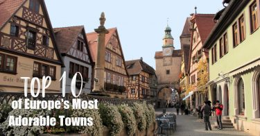 Top 10 Most Adorable Towns in Europe | Fairy Tales Towns in Europe | Fairytale Villages in Europe | Picturesque Towns in Europe | Best Old Towns in Europe | Most Beautiful Small Towns in Europe | Picturesque European Villages | Best Medieval Towns in Europe | Best Places to Visit in Europe - California Globetrotter