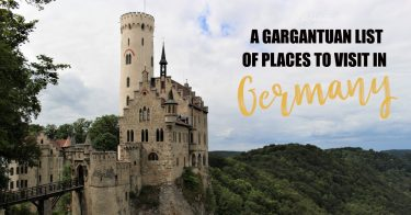 Top Places to Visit in Germany | Most Popular Destinations in Germany | Unique Places to Visit in Germany | Main Attractions in Germany | Popular Cities to Visit in Germany | Places to Visit in Southern Germany | Places to Visit in Northern Germany | Day Trips from Munich | Day Trips from Stuttgart | Half-Timbered Towns to Visit in Germany | Small Towns in Germany | #Germany - California Globetrotter