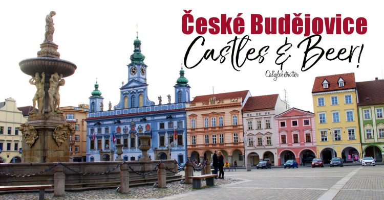 České Budějovice, Budvar Brewery - The Original Budweiser | Hluboká Castle | Castles in Czech Republic | Castles in Czechia | Day Trips from Prague | Eastern European Cities | Czechia Cities to Visit | Things to do in České Budějovice | #ČeskéBudějovice #CzechRepublic #Czechia #Europe - California Globetrotter
