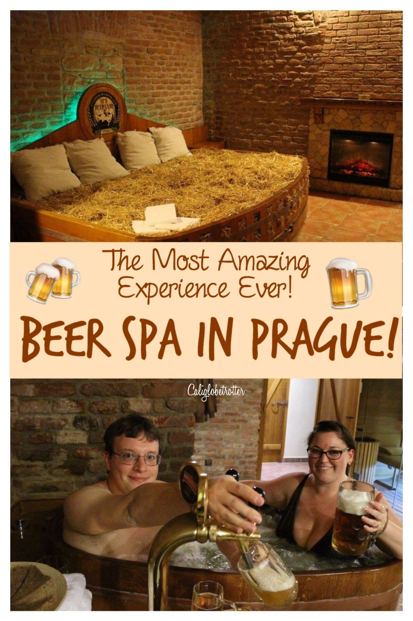 A Bucket List Experience Beer Spa in Prague | Beer Spa in Karlovy Vary | Best Things to do in Prague | Unique Things to do in Prague | Beer Lovers Unite | Czech Beer | Beer Bath in Prague | Spa Beerland Prague | Awesome Experiences in Prague | Must-do Activities in Prague | Prague Spas | #BeerSpa #Prague #CzechRepublic #Czechia #Europe - California Globetrotter