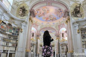 A Real Life Fairy Tale Library at Admont Abbey, Austria - Beauty and the Beast Library - World's Most Beautiful Libraries - Amazing Libraries - Libraries in Europe - California Globetrotter (8)