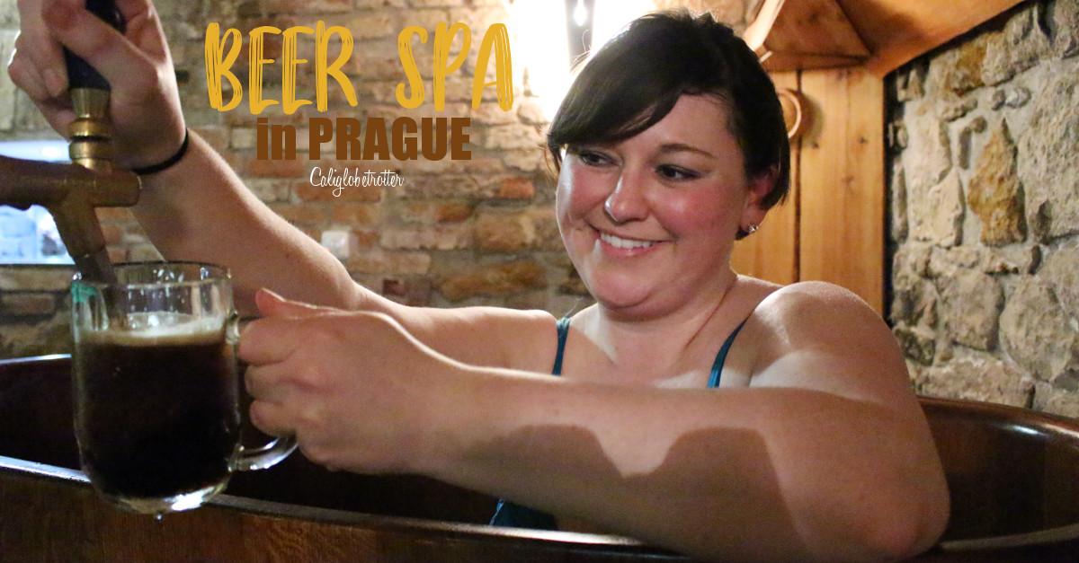 Beer Spa in Prague | Beer Spa in Karlovy Vary | Best Things to do in Prague | Unique Things to do in Prague | Beer Lovers Unite | Czech Beer | Beer Bath in Prague | Spa Beerland Prague | Awesome Experiences in Prague | Must-do Activities in Prague | Prague Spas | #BeerSpa #Prague #CzechRepublic #Czechia #Europe - California Globetrotter