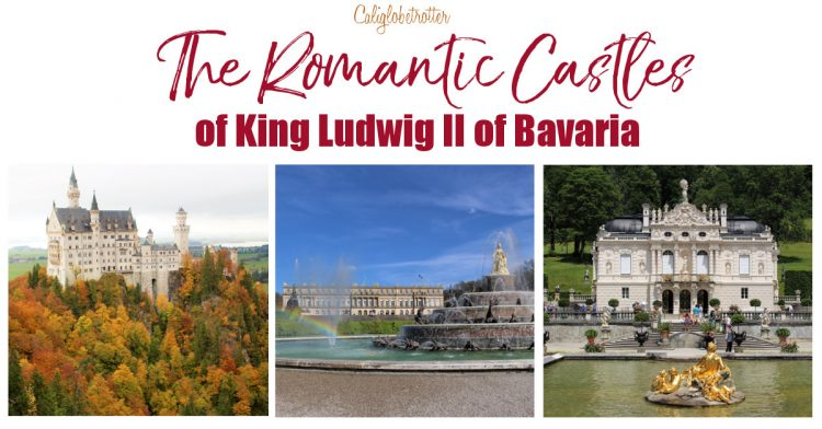 "The Romantic Castles of King Ludwig II of Bavaria | Bavarian Castles | Castles in Germany | Castles to Visit in Germany | Fairy Tale Castles of King Ludwig II | Schloss Neuschwanstein aka ""Disney Castle"" 