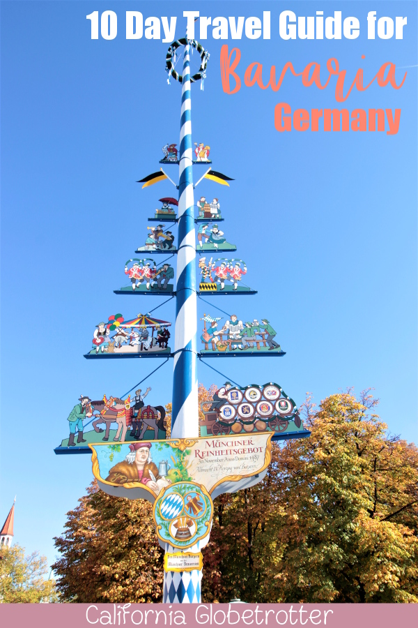 Your 10 Day Road Trip Guide to Bavaria, Germany | Bavarian Road Trip | Visit Bavaria | Top Cities to Visit in Bavaria | Where to go in Bavaria | Top Attractions in Bavaria | Day Trips from Munich | Castles in Germany | Germany Castles | Bavarian Castles | #Bavaria #Bayern #Germany #Deutschland - California Globetrotter