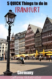 5 QUICK Things to do in Frankfurt   Layover in Frankfurt   How to get to Frankfurt from Frankfurt Airport   Frankfurt Layover   Sights to see in Frankfurt   Main Attractions in Frankfurt   Frankfurt City Center   #Frankfurt #Hesse #Germany #Layover - California Globetrotter