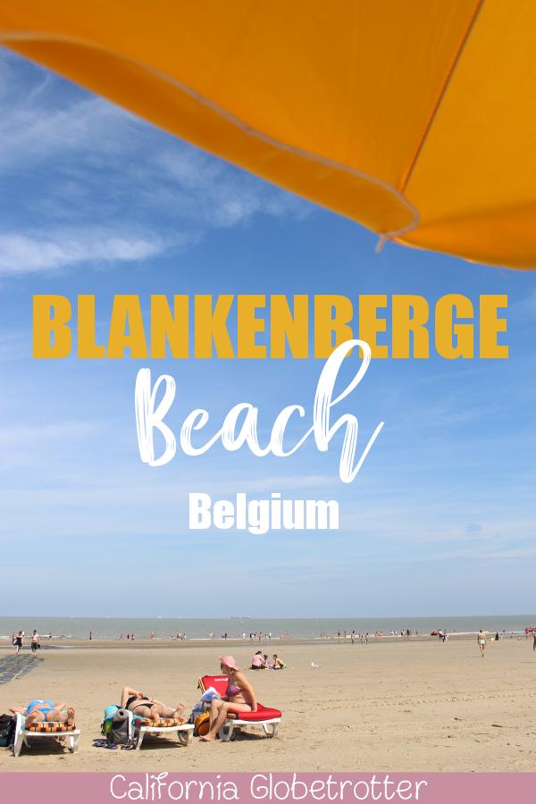 Blankenberge Beach - A Blissful Belgian Beach | Belgian Beaches | Beaches in Belgium | European Beaches | White Sandy Beaches in Europe | Beaches in Europe | Beaches in Northern Europe | Northern Europe Beaches | What do to at Blankenberge Beach | Family-friendly Beaches in Europe | Best Beaches in Europe | #BlankenbergeBeach #Flanders #Belgium - California Globetrotter