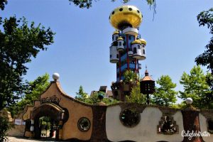 20 Pictures That Will Make You Want to Visit Bavaria NOW! - Abensberg & the Kuchlbauer Brewery's Hundertwasser Tower, Bavaria, Germany - California Globetrotter