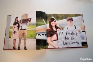 Blurb Travel Themed Engagement Photo Book | Travel Engagement Photos | Travel Themed Engagement Ideas | Travel Engagement Photo shoot | Travel Inspired Engagement Photos | Engagement Travel Photos | Airport Engagement Photos | World Traveler Engagement Photos | Love is an Adventure! | Vintage Suitcases | #Travel #EngagementPhotos - California Globetrotter