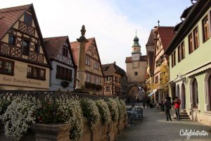 The Most Picturesque Half-timbered Towns in Germany - Rothenburg ob der Tauber - California Globetrotter