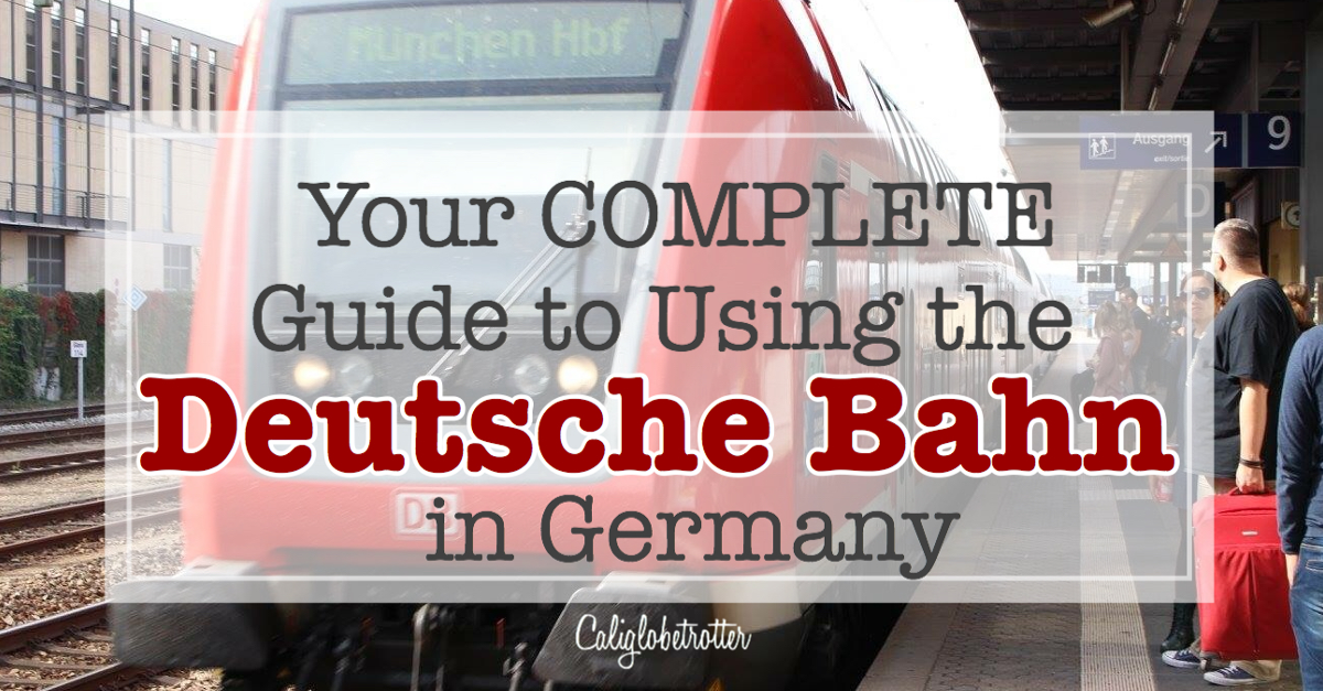 Your COMPLETE Guide to Using the #DeutscheBahn in Germany   Tips for German Trains   Deutsche Bahn Tickets   Bayern Ticket   Train Travel in Germany   Regional and ICE Trains in Germany   Public Transportation in Germany   Getting around Germany by Train   Traveling in Germany   How to use the trains in Germany   Save Money Traveling in Germany   How to Save Money Traveling in #Germany - California Globetrotter