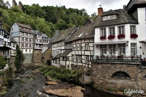 The Most Picturesque Half-timbered Towns in Germany - Monschau - California Globetrotter