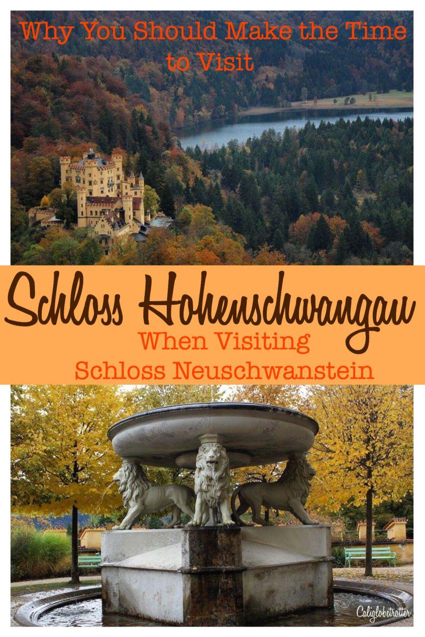 Schloss Hohenschwangau, Schangau, Bavaria, Germany - California Globetrotter
