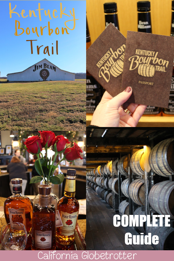 A COMPLETE Guide to the Kentucky Bourbon Trail | KY Bourbon Trail | Top Distilleries to Visit in Kentucky | Distilleries in Kentucky | Distilleries in Louisville | Ultimate Foodie Experience in Kentucky | Kentucky Heritage | Kentucky Bourbons | Bourbon Trail Passport | Kentucky Bourbon Country | Kentucky Road Trip | Distillery tours | Best Things to Do in the USA | Places to Visit in the USA | Travel USA | USA Travel | Visit Kentucky | Alcohol Tourism - California Globetrotter