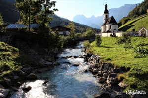 ULTIMATE List of day Trips from Munich -St. Sebastian Parish in Ramsau, Bavaria, Germany - California Globetrotter