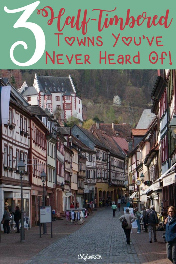 3 Charming Half-timbered Towns in Germany You've Never Heard Of! | Fairy Tale Towns in German | Picturesque Half-timbered Towns in Germany | Germany's Cutest Towns | Top Towns in Germany | Top Towns to Visit in Germany | Instagramworthy Towns in Germany | #Miltenberg, #Germany | #Michelstadt, Germany | #Heppenheim, Germany | Most Adorable City Halls in Germany - California Globetrotter