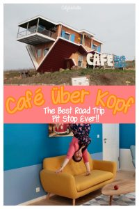 Café über Kopf - Toppels' Roadside Cafe | Upside Down House in Germany | Strange Things in Germany | Unique Places to Visit in Germany | Kid-Friendly Places to Visit in Germany | Best Road Trip Pitstop in Germany | Instagram Fun Destination in Germany | Day Trip from Frankfurt | Things to do near Frankfurt #Germany - California Globetrotter