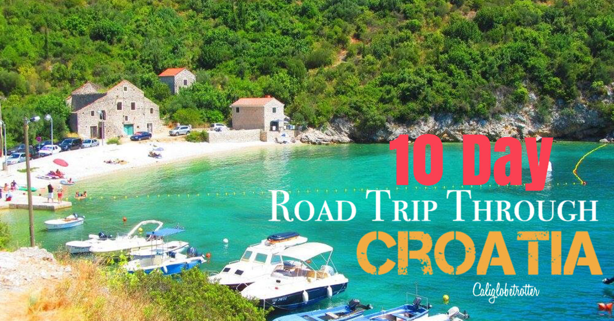10 Day Road Trip Through Croatia with day trips to #LakeBled & #Ljubljana,Slovenia & #Mostar, Bosnia-Herzegovina | #PlitviceNationalPark | #KrkaNationalPark | #Split | #Zagreb | #Zadar | #Dubrovnik - Summer Road Trip - Croatian Road Trip - Balkan Road Trip | Balkan Road Trip | Croatian Road Trip | Where to go in Croatia | Top Destinations in Croatia | Summer Road Trip through Croatia | Day Trips from Croatia | #BalkanTravel #BalkanCities - California Globetrotter