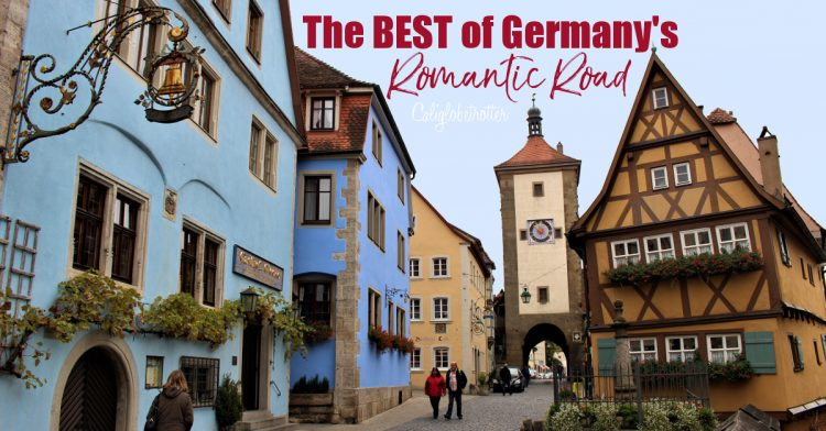 The BEST of the Romantic Road in Germany | Romantic Road Itinerary | The Best Stops Along the Romantic Road | Medieval Walled Towns | Romantic Road Tour | Driving the Romantic Road | Romantische Strasse | Where to stop on the Romantic Road | Castles on the Romantic Road | Churches on the Romantic Road | Which towns to skip on the Romantic Road | Romantic Road Bavaria | Romantic Road Germany | #RomanticRoad #Romantischestrasse | #Bavaria #Germany - California Globetrotter