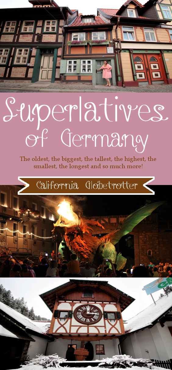 Superlatives of Germany - California Globetrotter
