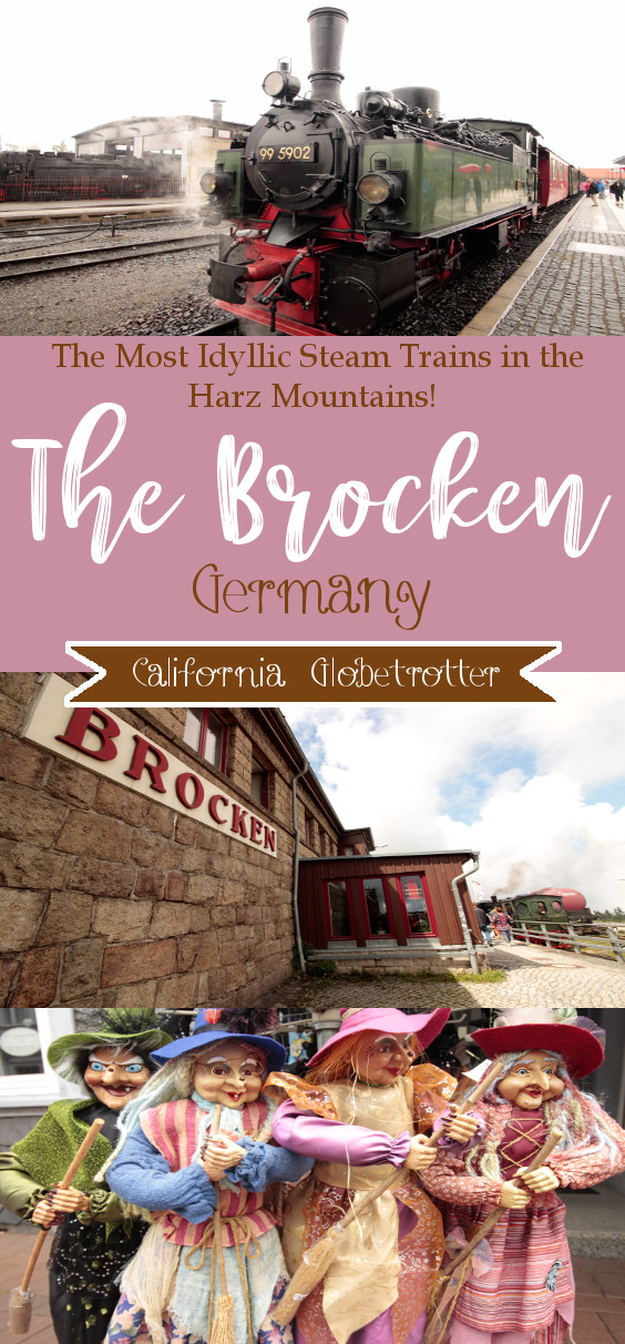 The Most Idyllic Steam Trains in the Harz Mountains, Germany - Harz Mountain Witch Festival - Myths & Legends of the Brocken - Northern Germany - Witches and Warlocks - California Globetrotter