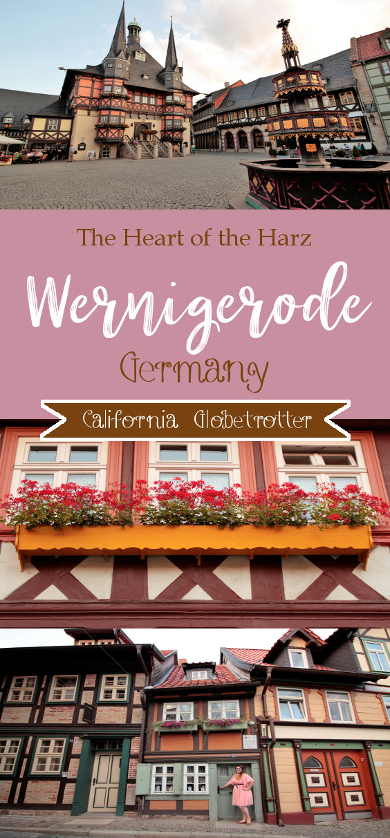 Wernigerode, Germany - The Heart of the Harz - Saxony-Anhalt, Germany - Northern Germany - Cute German Towns - Fairy Tale German - Fairy Tale German Towns - Half-timbered Towns in Germany - California Globetrotter