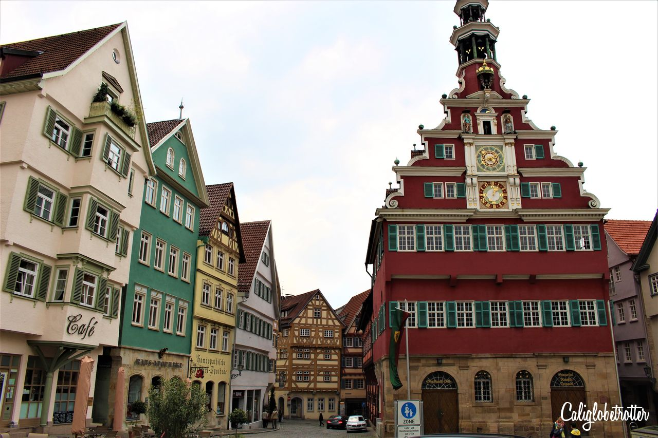 11 Amazing German Towns Not Destroyed by WWII - Cities that Survived WWII - Towns Not Destroyed by World War Two - Esslingen am Neckar, Germany - California Globetrotter