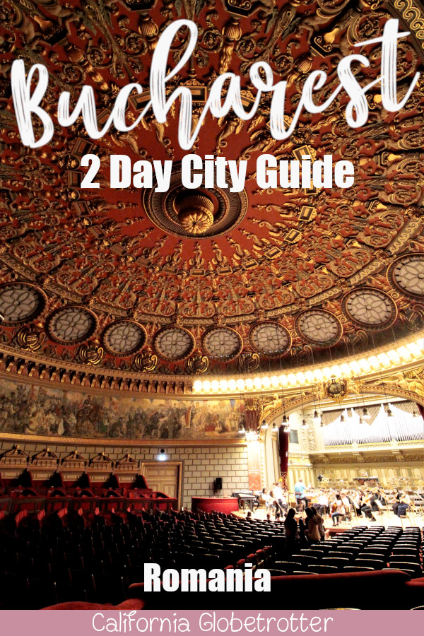 BuchaThe ESSENTIAL 2 Day Guide for Bucharest, Romania | Best of Bucharest | Bucharest Itinerary | Sightseeing in Bucharest | What to do in Bucharest | Unique Things to do in Bucharest | Using Public Transportation in Bucharest | Where to eat in Bucharest | Top Destinations to Visit in the Balkans | Balkan Travel | #Bucharest #Romania #Balkans #BalkanTravel #Europe - California Globetrotter