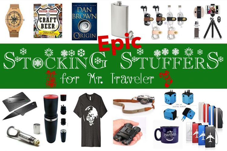 EPIC Stocking Stuffers for Mr. Traveler - Christmas Gifts for Men - California Globetrotter (1)