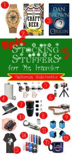 EPIC Stocking Stuffers for Mr. Traveler - Christmas Gifts for Men - California Globetrotter (2)