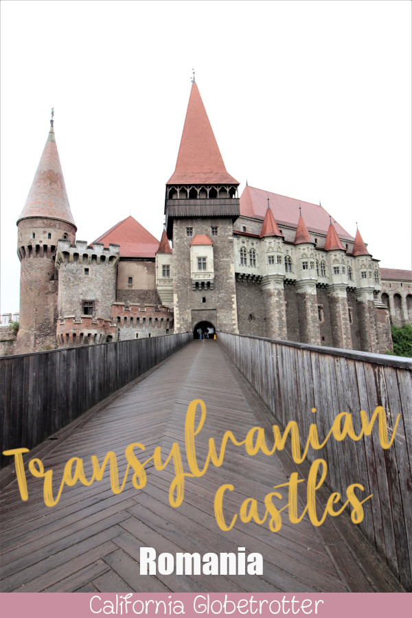 3 Transylvanian Fantasy Castles | Peles Castles, Bran Castle, Corvin Castle | Romanian Castles | Castles in Romania | Where to go in Romania | Top Destinations to Visit in Romania | Tips for Visiting Romanian Castles | Day Trips from Bucharest | Day Trips from Timisoara | Romania's Castles & Fortresses | Top Balkan Destinations | Balkan Travel | #PelesCastle #BranCastle #CorvinCastle #Romania - California Globetrotter