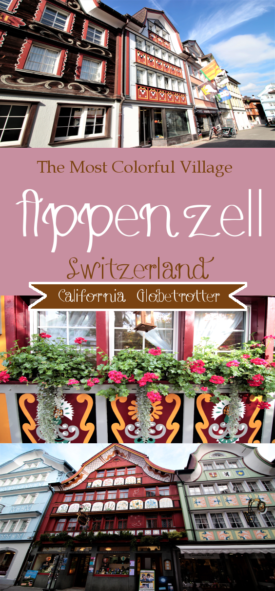 Visiting Appenzell & Hiking Ebenalp - Aescher - Switzerland - The Most Beautiful Village & Restaurant in the World - California Globetrotter