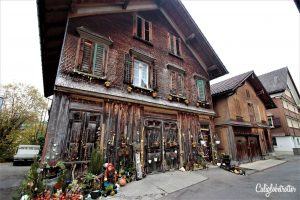 Visiting Appenzell & Hiking Ebenalp to Aescher   Most Colorful Village in Switzerland   Most Beautiful Restaurant in the World   What to do in Appenzell   Honeymoon Destinations in Appenzell   Unique Sights in Switzerland   Underrated Towns in Switzerland   Best Hikes in Switzerland   #Switzerland #Appenzell #Aescher #Ebenalp #HikinginSwitzerland #Europe - California Globetrotter