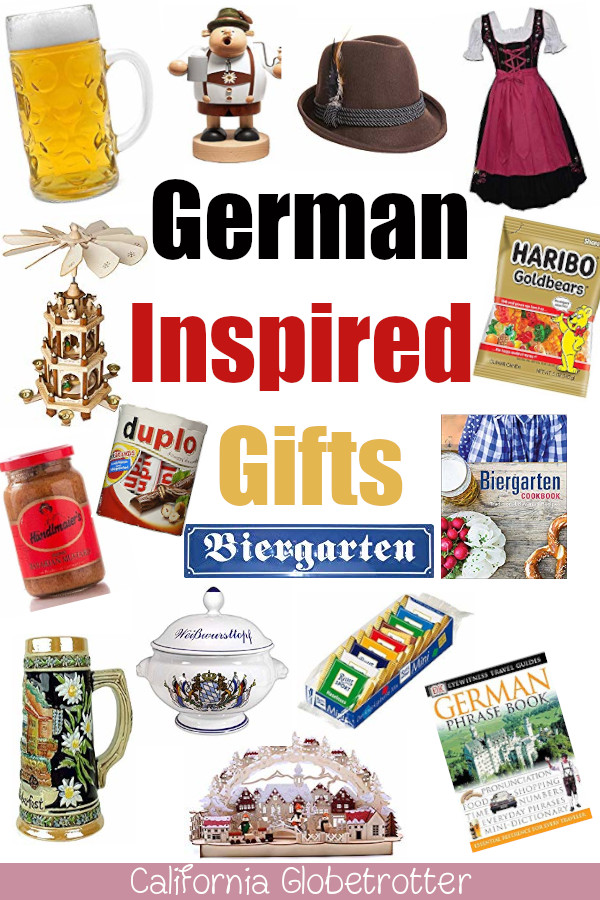German Gifts Everyone Will Love | Traditional German Souvenirs | The Best German Cookbooks | Bavarian Cookbook | German Holiday Gifts | Gifts for People Traveling to Germany | German Presents | German Inspired Gifts | Gifts for People Who Love Germany | Souvenirs from Germany - California Globetrotter