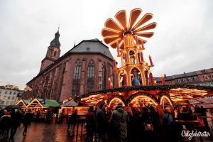 Heidelberg's Christmas Market, Germany - Heidelberg Weihnachtsmarkt - California Globetrotter